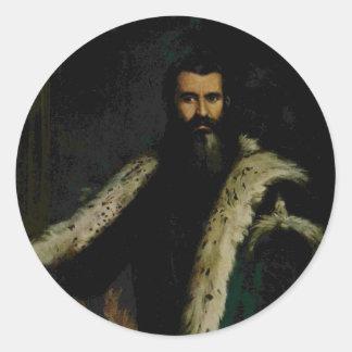 Paolo Veronese- Portrait of Daniele Barbaro Round Sticker