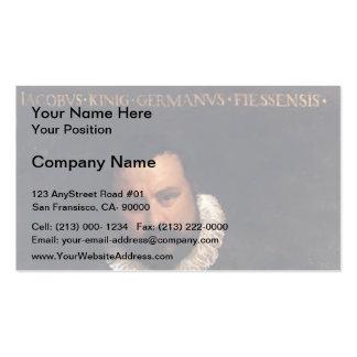 Paolo Veronese- Portrait of Johann Jakob Business Cards