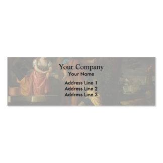 Paolo Veronese- Rebecca at the Well Business Card