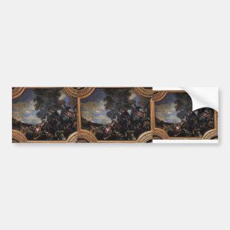 Paolo Veronese- Siege of Scutari Bumper Sticker