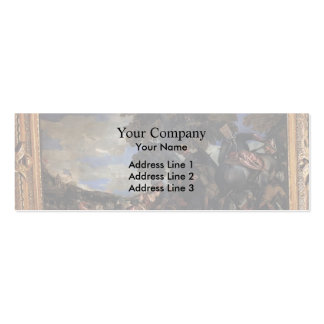 Paolo Veronese- Siege of Scutari Business Card Templates