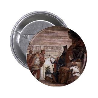 Paolo Veronese: St Sebastian que reprende Diocleti Pin