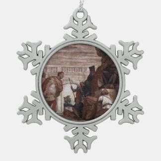 Paolo Veronese St Sebastian Reproving Diocletian Ornaments