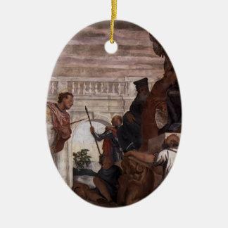 Paolo Veronese St Sebastian Reproving Diocletian Ornament