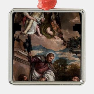 Paolo Veronese-StMark,James,Jerome,dead Christ Christmas Tree Ornament