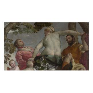 Paolo Veronese- Unfaithfulness Business Card