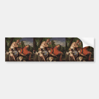 Paolo Veronese- Venus and Adonis Bumper Stickers