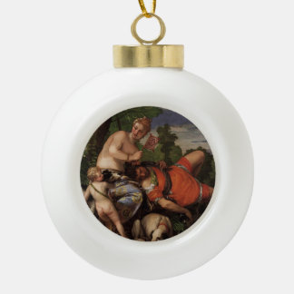 Paolo Veronese- Venus and Adonis Ornaments