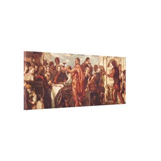 Paolo Veronese - Wedding at Cana Canvas Print