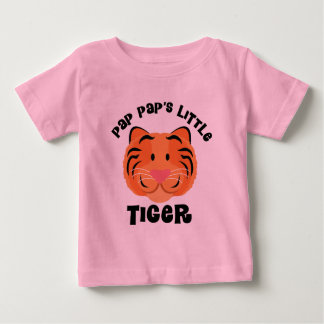 Pap Paps Little Tiger Cute Gift Baby T-Shirt