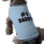 Papá #1 camiseta de perrito
