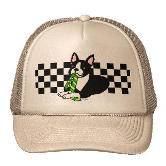 Papá 1 de Boston Terrier Gorras De Camionero