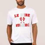 Papá #1 de Le Père Numero 1 en el día de padre Camisetas