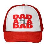 Papá #1 gorras de camionero