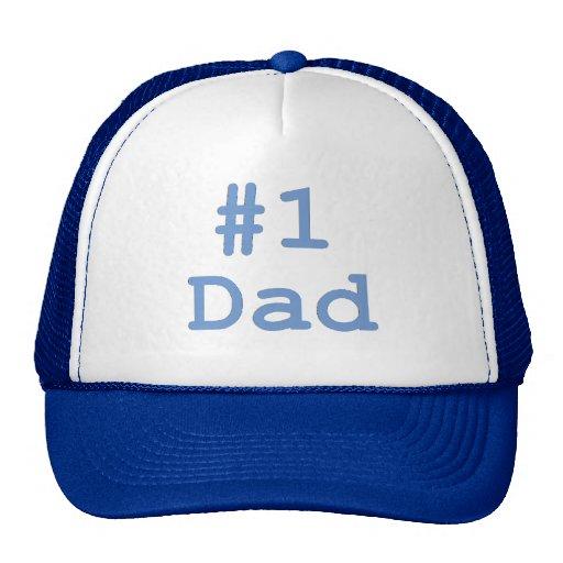 Papá #1 gorros bordados