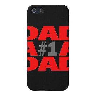 Papá #1 iPhone 5 carcasas
