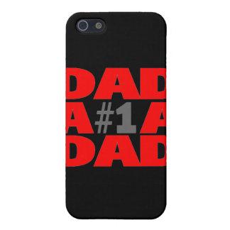 Papá #1 iPhone 5 fundas
