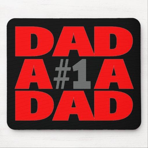 Papá #1 tapete de ratones