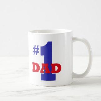 Papá #1 taza