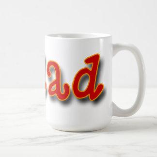 Papá #1 taza clásica