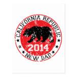 papá 2014 de la república de California nuevo Postales