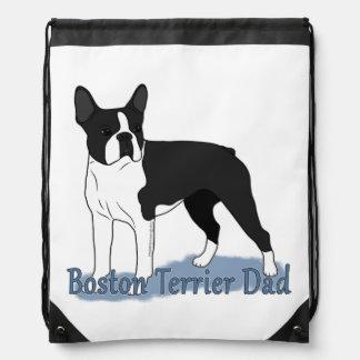 Papá 2 de Boston Terrier Mochilas