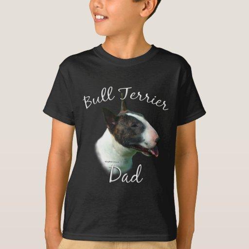Papá 2 de bull terrier playera
