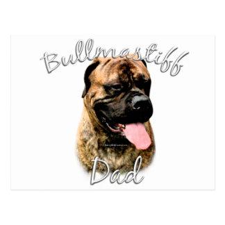 Papá 2 de Bullmastiff Tarjetas Postales