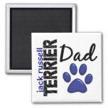 Papá 2 de Jack Russell Terrier Imanes