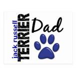 Papá 2 de Jack Russell Terrier Postal