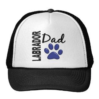 Papá 2 de Labrador Gorro