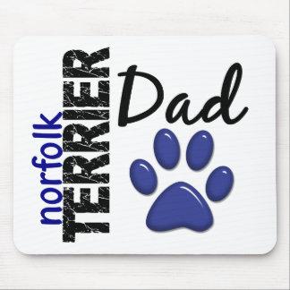 Papá 2 de Norfolk Terrier Mouse Pad