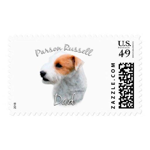 Papá 2 de Russell Terrier del párroco Franqueo