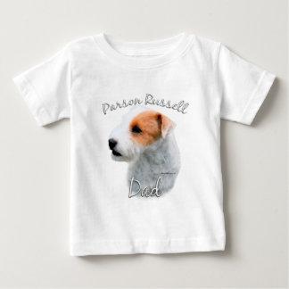 Papá 2 de Russell Terrier del párroco Playera De Bebé