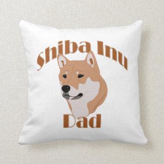 Papá 2 de Shiba Inu Cojines