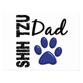 Papá 2 de Shih Tzu Postal