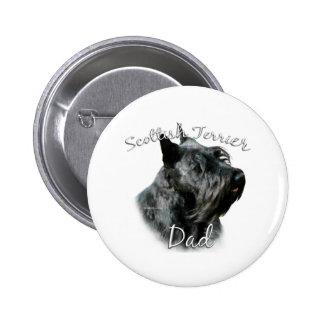 Papá 2 de Terrier del escocés (negro) Pin