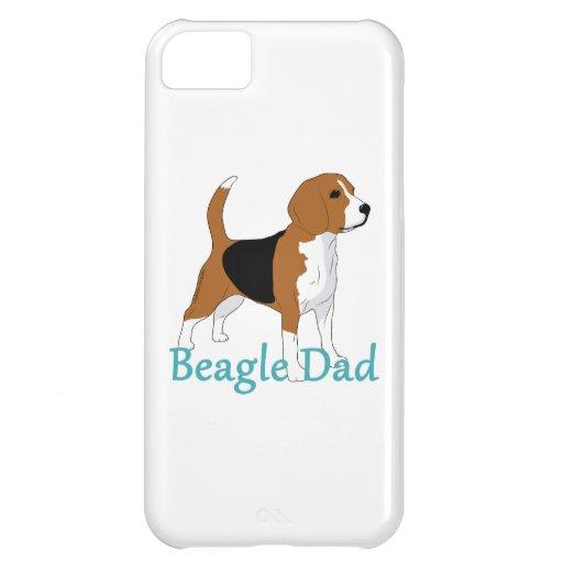 Papá 2 del beagle funda para iPhone 5C