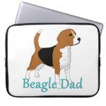 Papá 2 del beagle funda portátil