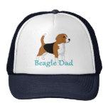 Papá 2 del beagle gorras