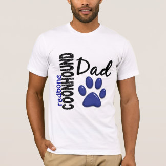 Papá 2 del Coonhound de Redbone Playera