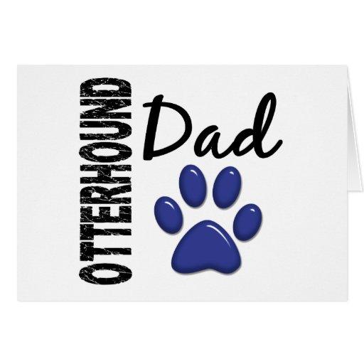 Papá 2 del Otterhound Felicitaciones