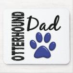 Papá 2 del Otterhound Tapetes De Ratón