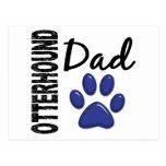 Papá 2 del Otterhound Tarjeta Postal