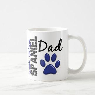 Papá 2 del perro de aguas de saltador galés tazas de café