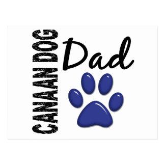 Papá 2 del perro de Canaan Postales