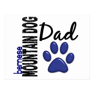 Papá 2 del perro de montaña de Bernese Postal