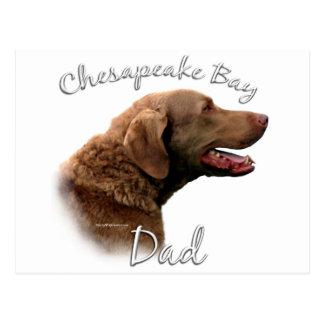 Papá 2 del perro perdiguero de bahía de Chesapeake Postal