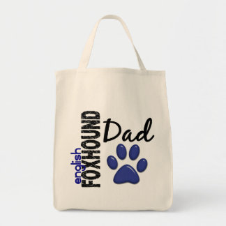 Papá 2 del raposero inglés bolsa tela para la compra