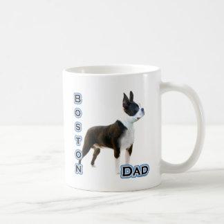 Papá 4 de Boston Terrier Taza Clásica